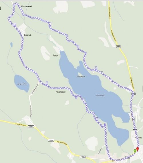 trømborgfjella kart Vårslepp Mysen | Trimpoeng trømborgfjella kart